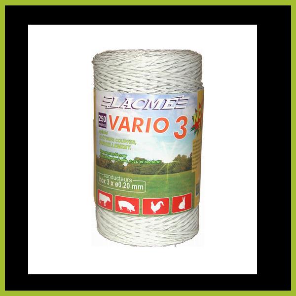 Vario 3 villanypásztor vezeték