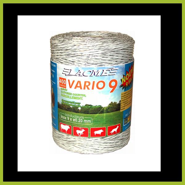 Vario 9 villanypásztor vezeték