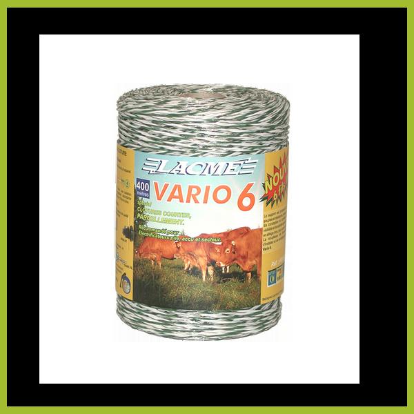 Vario 6 villanypásztor vezeték